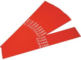 Vörös fényvisszaverő matrica