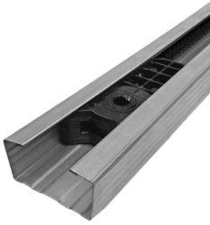 V06006 - 3,52 m bordásszíjas sín, max 2,7 m magas szekcionálkapuhoz
