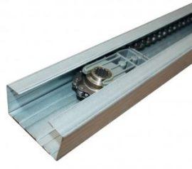 V06008 - 3 részes, 3,02 m láncos sín, max 2,25 m magas szekcionálkapuhoz